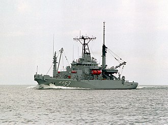 Salvage tug - USNS Grapple Example of modern naval rescue and salvage ship
