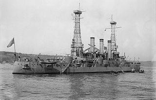 USS <i>Kansas</i> (BB-21) Connecticut-class pre-dreadnought battleship of the United States Navy