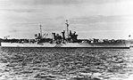 USS Phoenix (CL-46) at anchor, circa in 1939 (NH 68326).jpg