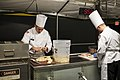 US Army Reserve Culinary Arts Team serves three-course meal to guest diners 160310-A-XN107-021.jpg