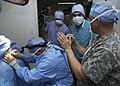 US Army veterinarians train host-nation veterinarians on small animal medicine DVIDS328845.jpg