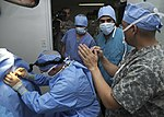 US Army veterinarians train host-nation veterinarians on small animal medicine DVIDS328845.jpg