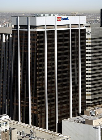 U.S. Bancorp - The US Bank tower in downtown Denver, Colorado