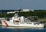 U.S. Coast Guard medium endurance cutter Vigilant (WMEC-617).