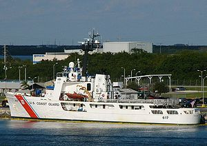 USCGC Vigilant (WMEC-617) - U.S. Coast Guard Cutter Vigilant docked in Port Canaveral, Florida in 2008.
