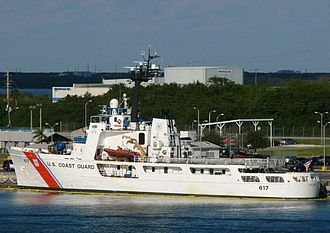 USCGC Vigilant (WMEC-617) - U.S. Coast Guard Cutter Vigilant docked in Port Canaveral, Florida in 2008.