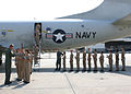 US Navy 060816-N-8544C-002 Lieutenants Justin Fisher and Greg Englebert assigned to the Pro's Nest of Patrol Squadron Three Zero (VP-30) gives a tour to midshipmen.jpg