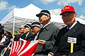 US Navy 070314-N-4124C-007 Japanese survivors of the Battle of Iwo Jima sit together at the 62nd Commemoration of the Battle of Iwo Jima held overlooking invasion beach.jpg