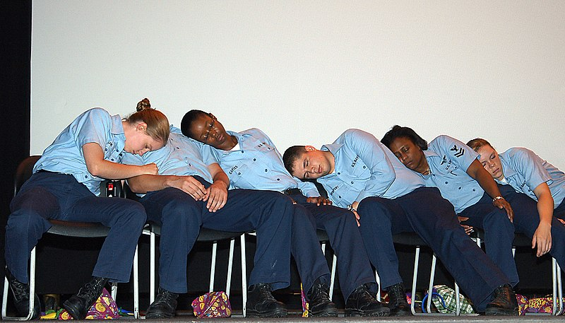 File:US Navy 070816-N-1082Z-003 During a DUI safety, Sailors are hypnotized and put in various comical situations at the Naval Air Station Oceana theater.jpg