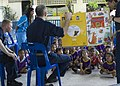 US Navy 100217-N-9211M-076 Sailors assigned to Amphibious Squadron (PHIBRON) 11 read to children at Ban Klod Nursery during a community service project.jpg