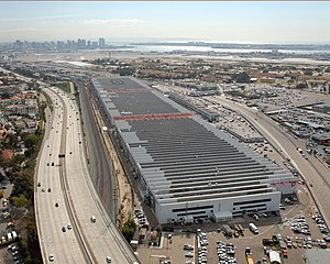 Space and Naval Warfare Systems Command - Aerial view of the SPAWAR Headquarters in San Diego