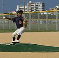 US military, Okinawa children bond in America's pastime 140927-M-DM081-002.jpg