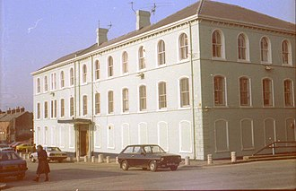 Havelock House, Belfast - Havelock House in 1975.