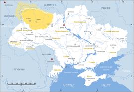 Карта волині 20 століття