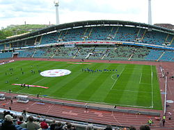 El Estadio Ullevi, sede de la final.