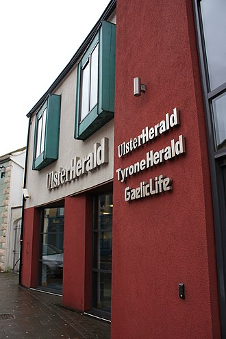 Ulster Herald - Ulster Herald offices, John Street, Omagh, January 2010