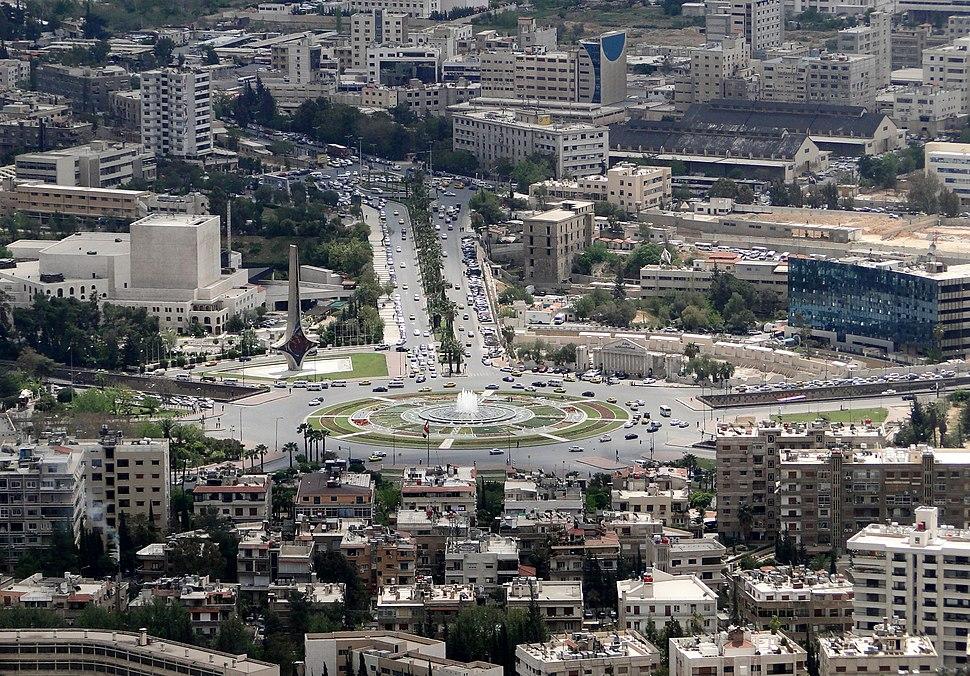 ساحة الأمويين، دمشق
