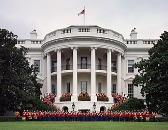 United States Marine Band - Image: United States Marine Band at the White House