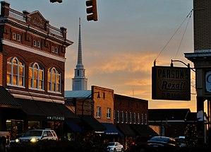 Wadesboro, North Carolina - Uptown Wadesboro
