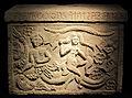 Urna funeraria con scilla in alabastro, 225-200 ac ca, da volterra (museo guarnacci).JPG