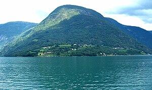 Ornes, Sogn og Fjordane - View of the village