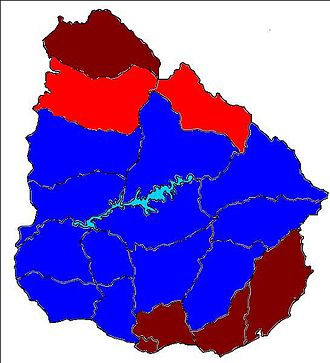 2010 Uruguayan municipal elections - Image: Uruguay Departmental Elections 2010
