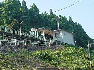 Utatsu Station - Utatsu Station in June 2007