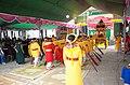 Văn nghệ Hội đình làng tứ thôn xã Minh Tân, huyện Lương Tài, tỉnh Bắc Ninh (ảnh chụp chính diện).jpg