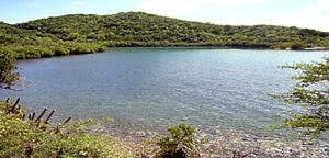 Virgin Islands Coral Reef National Monument - Hurricane Hole, the only coastal part of the National Monument