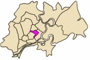 District 3, Ho Chi Minh City - Image: VN F HC Q3 position in city core