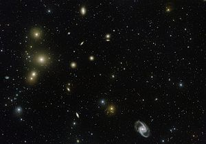 Fornax Cluster - Image: VST image of the Fornax Galaxy Cluster