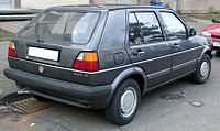 VW Golf II rear 20080102.jpg