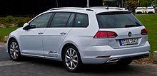 VW Golf Variant 1.4 TSI BlueMotion Technology Highline (VII, Facelift) – Heckansicht, 21. April 2017, Düsseldorf.jpg