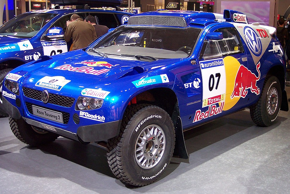 VW Race Touareg 2 blue vl EMS