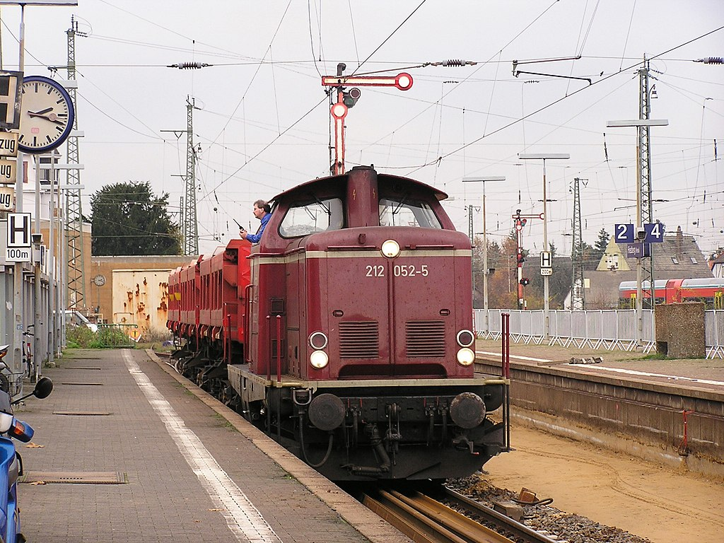 V 212 052-5 Friedberg