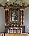 Valdemarsviks kyrka, altartavla av David Wallin (1918), 1 september 2012, bild 2.jpg