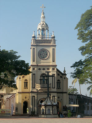 National Shrine Basilica of Our Lady of Ransom, Vallarpadam - Image: Vallarpadam Church
