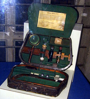 The Historian - Vampire-killing kit at the Mercer Museum