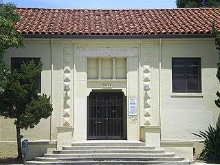library in Van Nuys, Los Angeles, California