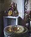 Vaversunda baptismal font and madonna.jpg