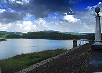 Vazhani reservoir.JPG