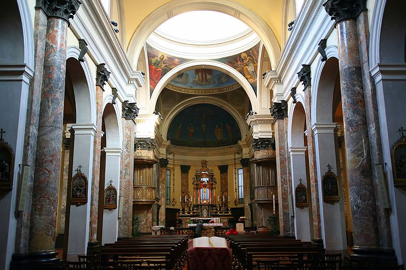 File veduta della navata maggiore della chiesa di san for Giorgio iv milano