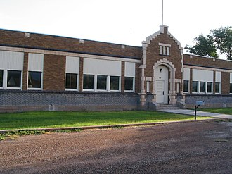 Venice, Utah - The old Venice School