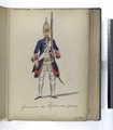 Vereenigde Provincien der Nederlanden. Grenadier der Hollandsche Guardes. 1750 (NYPL b14896507-91935).tiff