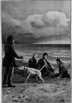 Verne - Les Naufragés du Jonathan, Hetzel, 1909, Ill. page 192