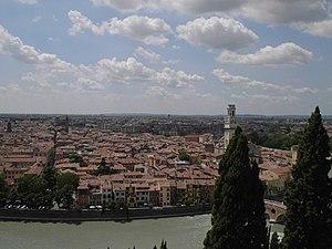 History of Verona - A view of Verona.
