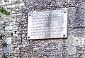 """Versi della poesia carducciana """"Alle fonti del Clitumno"""" sulle Mura di Spoleto.jpg"""