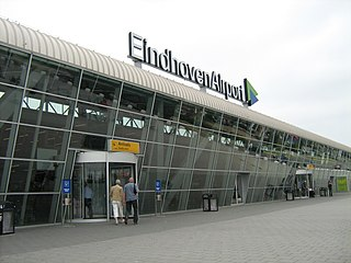 Airport in Eindhoven, North Brabant, Netherlands
