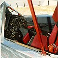 Vertical SR-71 Pilots cockpit, instruments, stick, ejection seat (4527969868).jpg