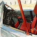 Vertical SR-71 Pilots cockpit, instruments, stick, ejection seat (4527969868).jpg